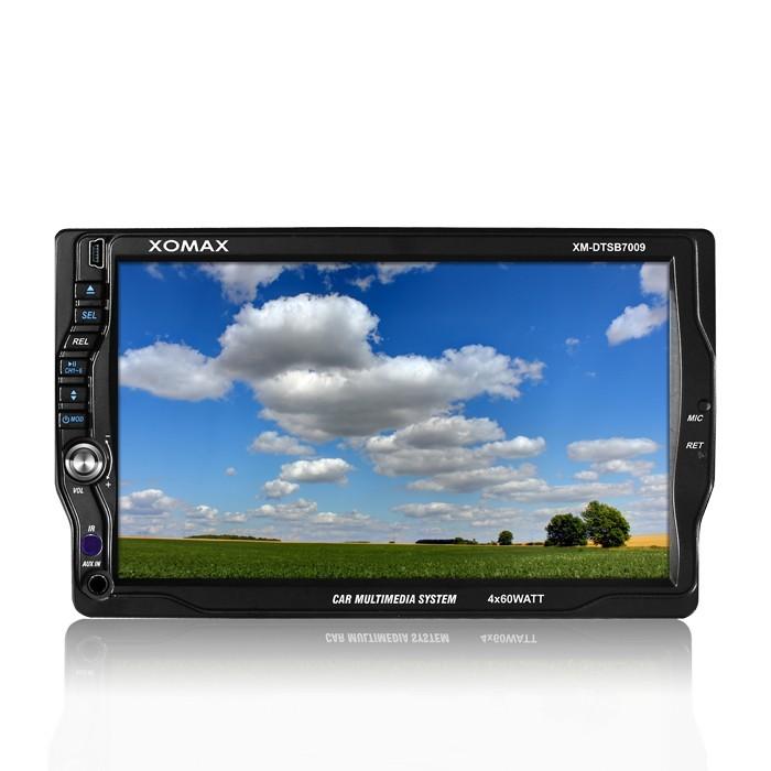 autoradio mit bluetooth 18cm touchscreen dvd cd usb sd. Black Bedroom Furniture Sets. Home Design Ideas