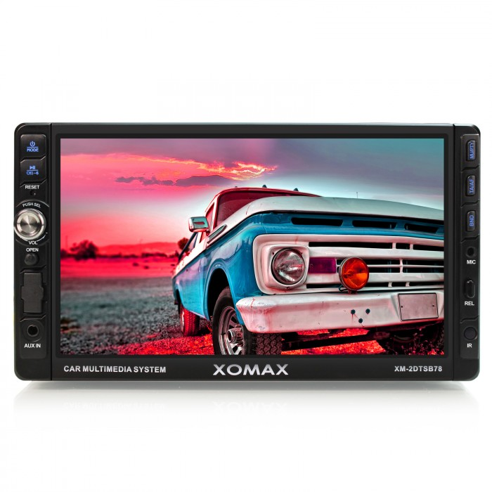 18cm-7-HD-Touchscreen-BLUETOOTH-Autoradio-DVD-USB-SD-VIDEO-AUX-IN-AV-OUT-2DIN