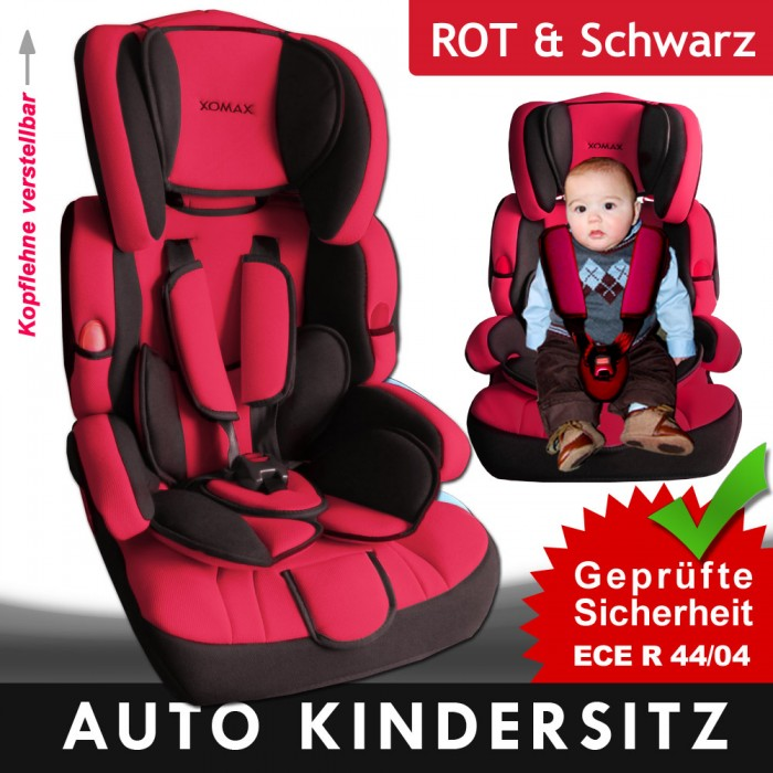 kindersitz autositz auto kindersitz sitzerh hung 5 punkt 9. Black Bedroom Furniture Sets. Home Design Ideas