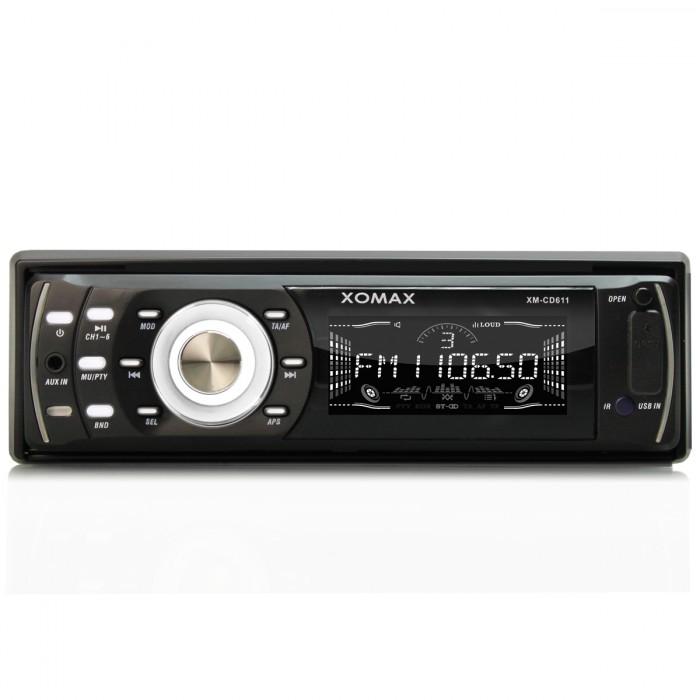 AUTORADIO-mit-CD-PLAYER-RECEIVER-USB-SD-SDHC-MP3-WMA-RDS-AUX-IN-SINGLE-1-DIN