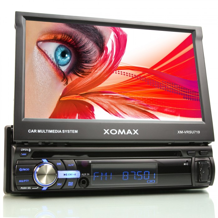 AUTORADIO-MIT-7-18cm-TOUCHSCREEN-DISPLAY-USB-SD-64GB-RDS-EQ-AUX-1DIN-MONICEIVER