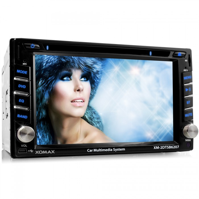 car radio with bluetooth hd touchscreen dvd cd player usb. Black Bedroom Furniture Sets. Home Design Ideas