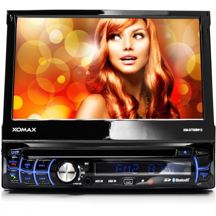 AUTORADIO-MIT-TOUCHSCREEN-BLUETOOTH-DVD-CD-PLAYER-USB-SD-AUX-MP3-1DIN-MONICEIVER