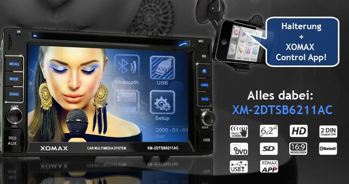 XOMAX Autoradio XM-DTSB6211AC kaufen